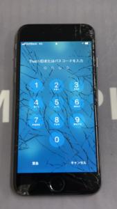 修理前のiPhone6の画像