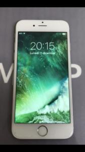 iPhone6 画面割れ 修理完了後