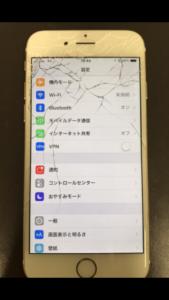 iPhone6 画面割れ 交換前