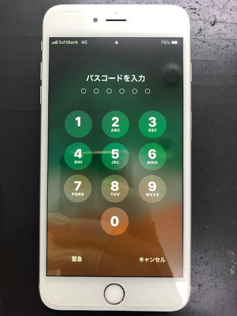画面割れ修理後のiPhone6s