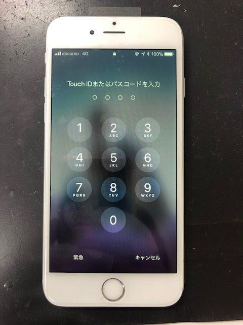 画面修理後のiPhone6