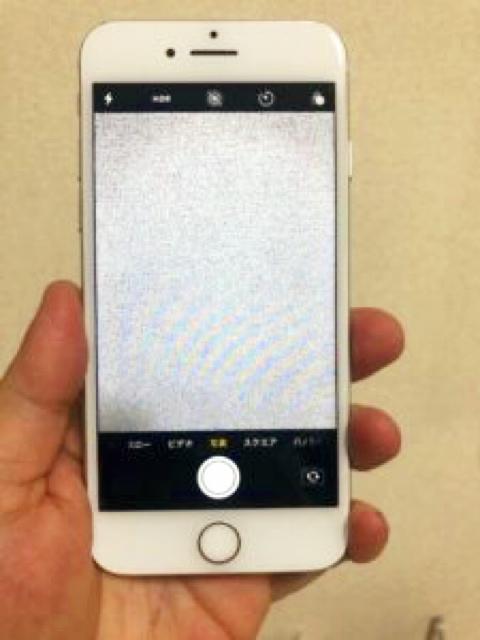 カメラ修理後のiPhone7