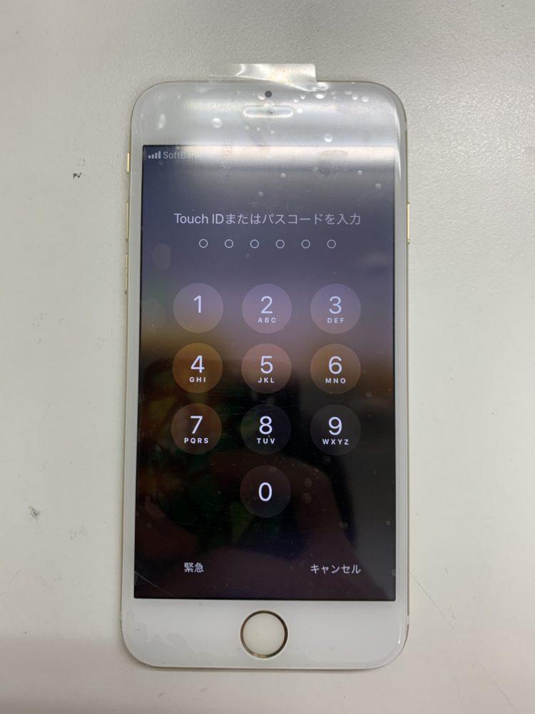 iPhone6修理後