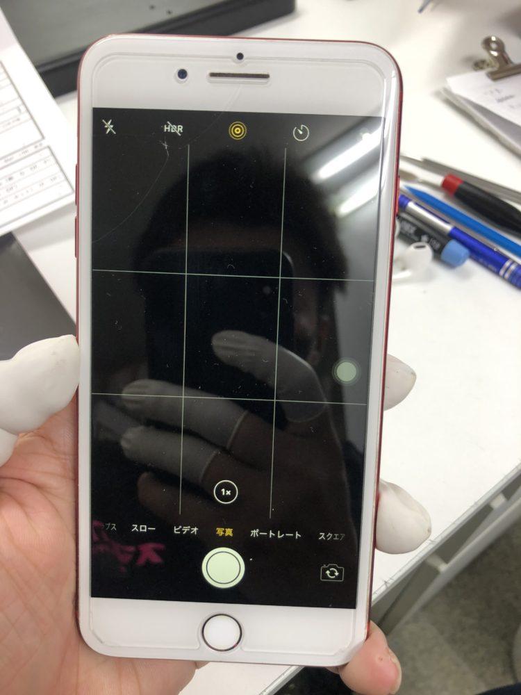 バックカメラ修理前のiPhone7Plus