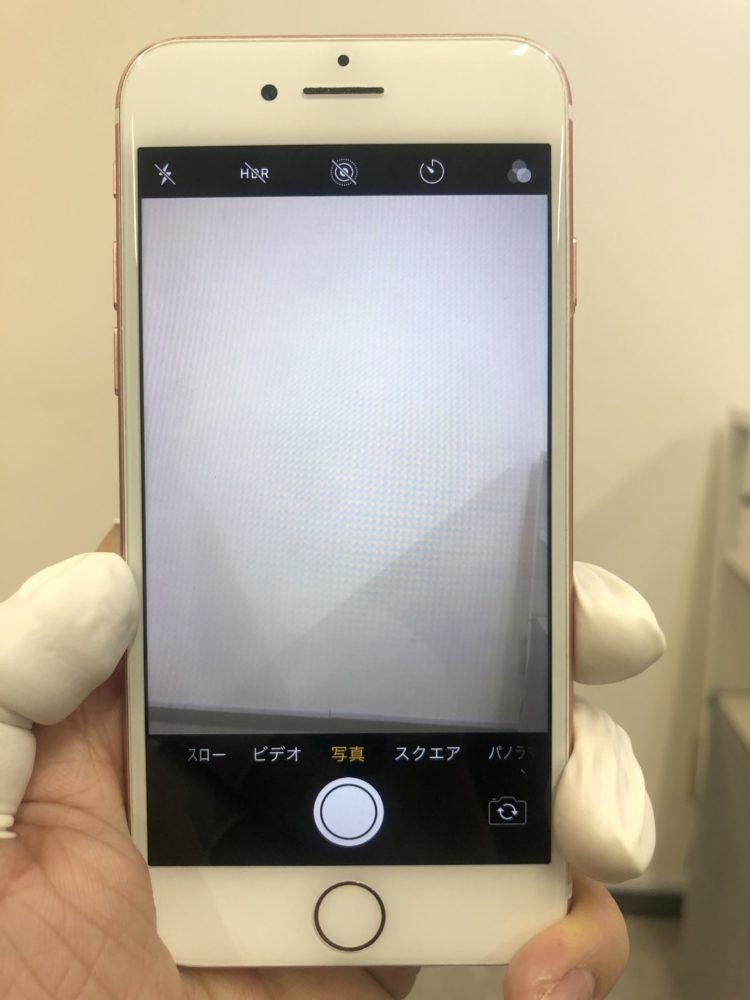 バックカメラ交換前のiPhone7