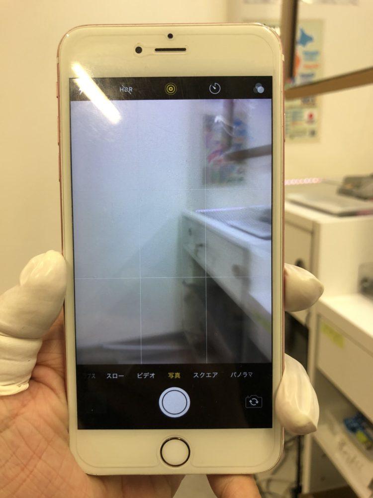 バックカメラ修理前のiPhone6sPlus