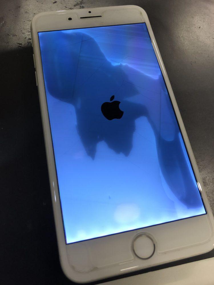 水没復旧後のiPhone7Plus
