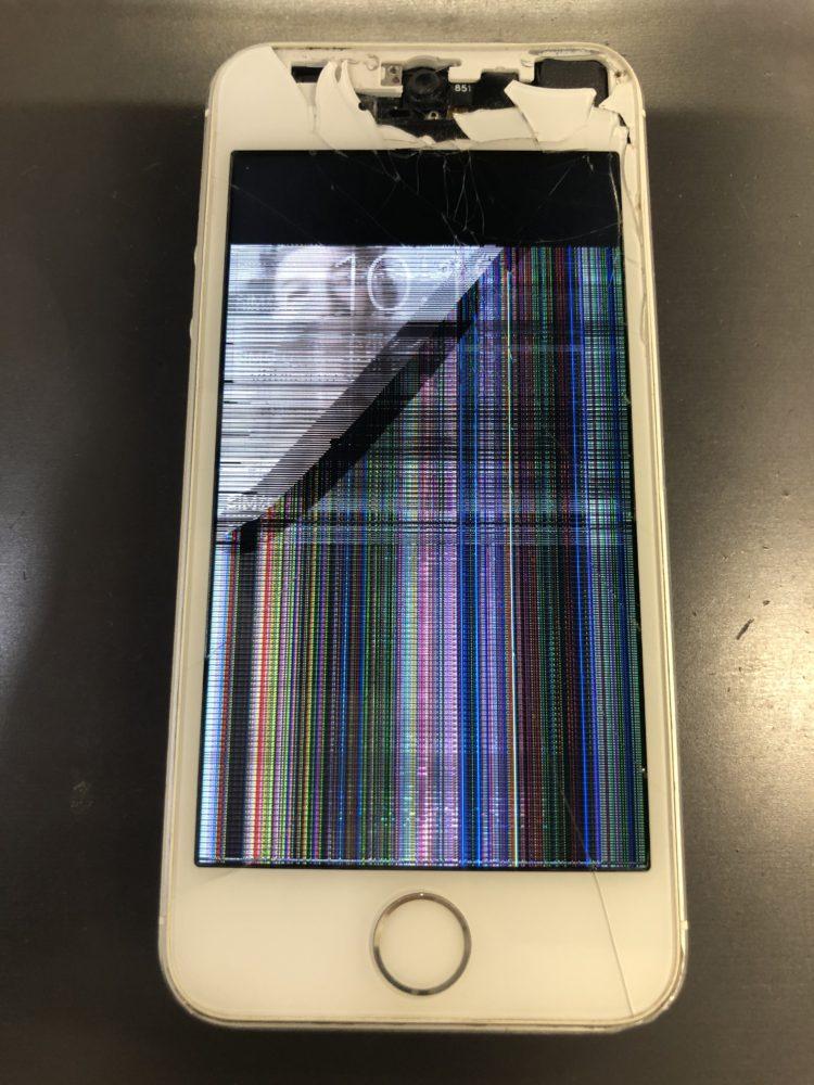 画面修理前のiPhone5s