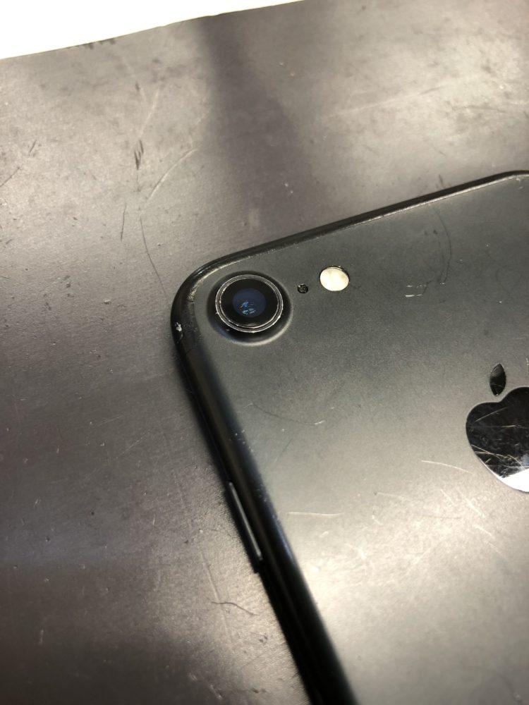 カメラレンズ修理後のiPhone7