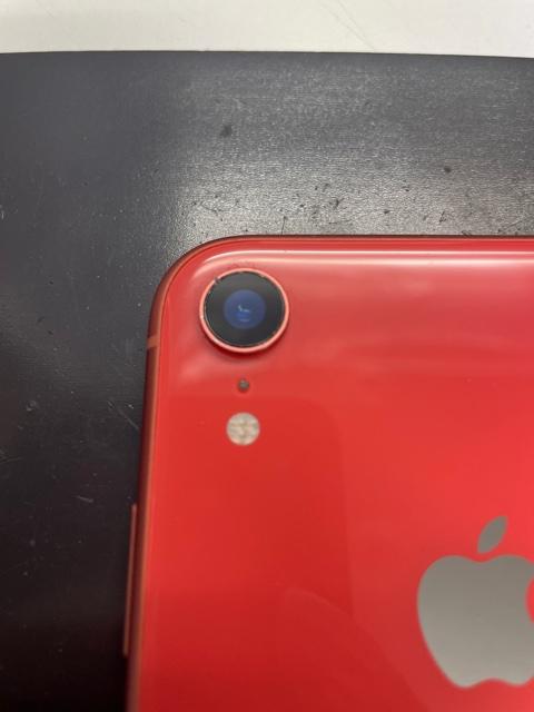 カメラレンズ交換後のiPhoneXR