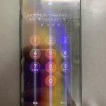 iPhoneXsの液晶に線が入り一部操作ができなくなった!その状態でも修理で直せます!
