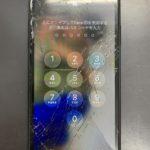 バキバキに割れたiPhoneXRを修理しました!30分で即日修理!