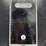 iPhone7の画面がバキバキに割れてしまった!バキバキになっても修理で改善ができます!